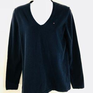Tommy Hilfiger Women's Navy Lightweight Sweater M